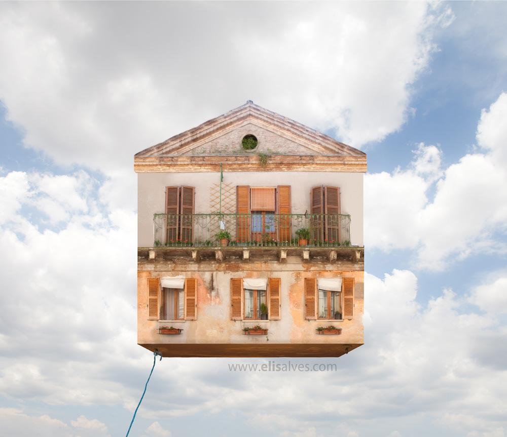 Flying house detailSmall blog