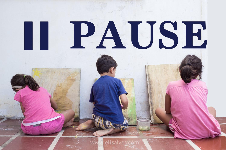 Pause small blog